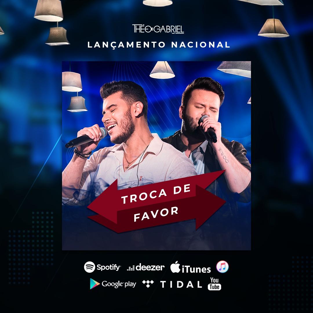 """Théo E Gabriel Lançam Single """"Trocar De Favor"""""""